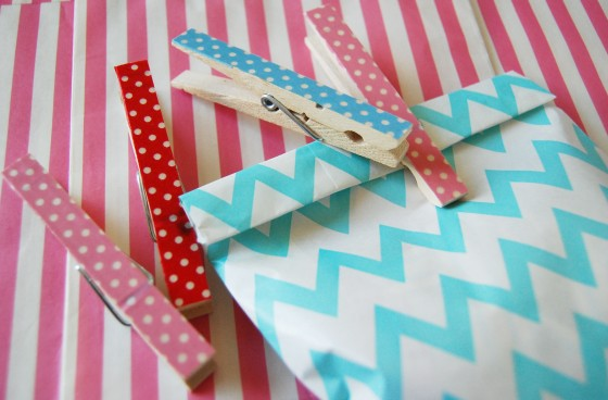 Paper Doily Pegs 3