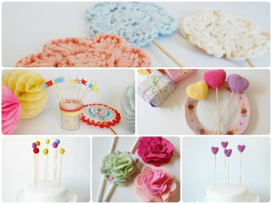 FotorCreated cake toppers
